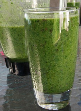 Bok Choy green Smoothie