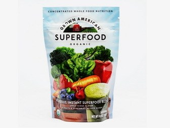 American grown superfood powder