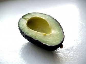 Avocado acne