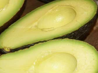 Avocados Cut