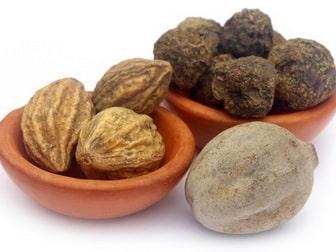 Bibhitaki amalaki and haritaki in different amounts