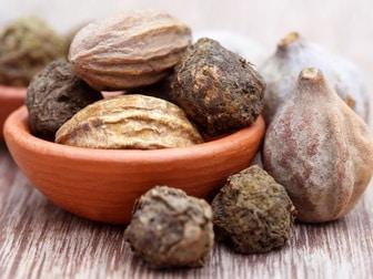 Bibhitaki haritaki amalaki dried fruit