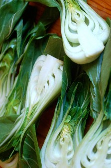 Bok-choy-cooking