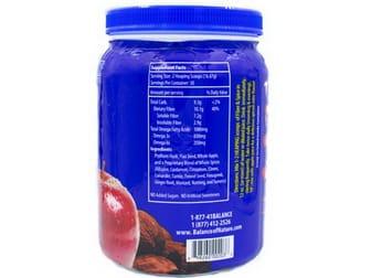 Fiber and Spice label