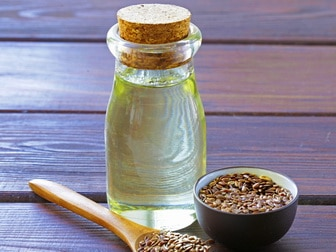 Flax oil for beautiful hair