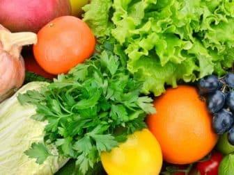 Fruit in Greens Blend
