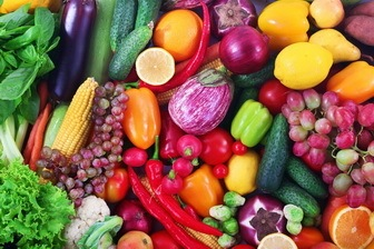 Healthy Veggies and Fruits