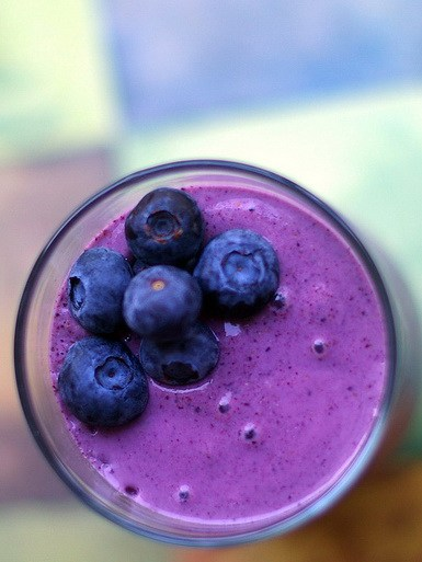 Maca and Blueberry Smoothie Recipe for More Testosterone and Higher Libido