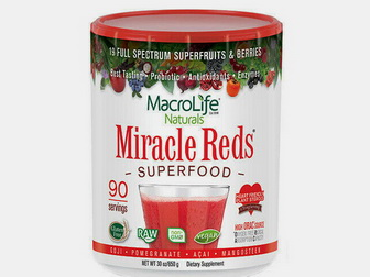 Miracle Reds powdered superfoods