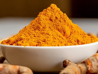 Turmeric warning
