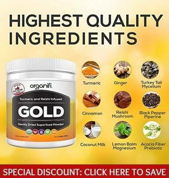 Organifi Gold Ingredients