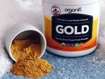 Organify Gold powdered supplement