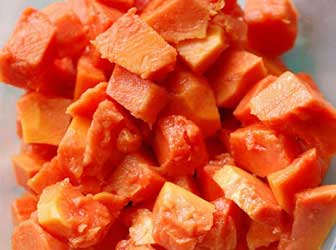 Salad with Papaya