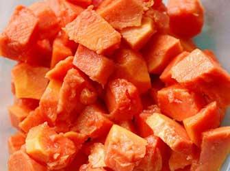 Salad with Papaya