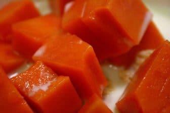 When is a papayafruit ready?