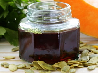 Pumpkin oil when to take