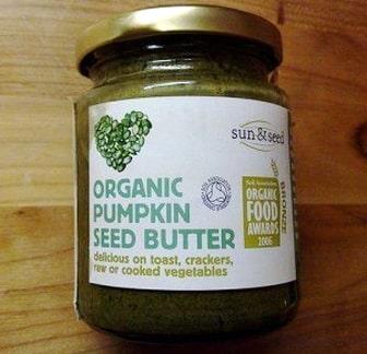 Organic pumpkin seed butter spread