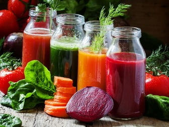 Superfood powder made from juice