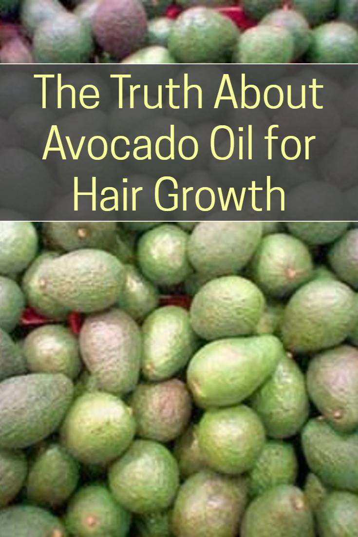 The truth about using avocado oil for hair growth for Does fish oil help your hair grow