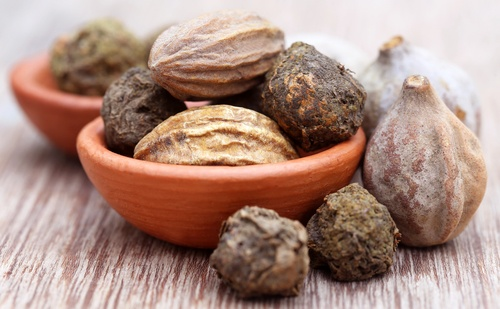 Triphala tea for hair growth
