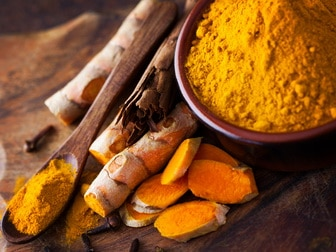 Turmeric cold remedy