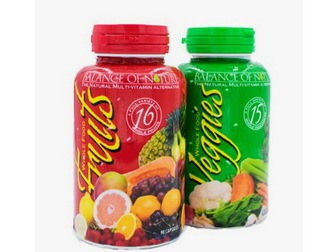 Whole fruit and veggie supplement